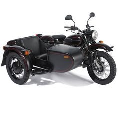 The Allied Victory Sidecar Motorcycle - I'll sit in the back and let my chauffeur drive me around. :)