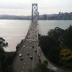 Treasure Island view of the Bay Bridge, SF