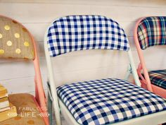 Party Pretty Folding Chairs | My Fabuless Life