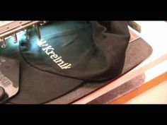 How To Make an Embroidered Hat with Kreinik thread - YouTube