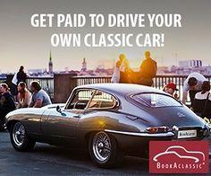 Get paid to drive your own classic car! #bookaclassic #classiccar #carvintage #moviecar #vintagecar #bridebook #marriage #wedding #weddingcar  #weddinginspiration #weddingphotography
