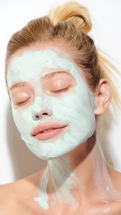 Spa day - Care - Skin care , beauty ideas and skin care tips Natural Face, Natural Skin Care, Beauty Care, Beauty Hacks, Glossy Eyes, At Home Face Mask, Facial Massage, Tips Belleza, Facial Care