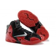 Cheap Nike Lebron 11 Red Black Grey $107.90  http://www.blackonshoes.com/nike+lebron/nike+lebron+11