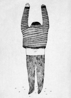 Amelie Fontaine, le rideau-etchings 5