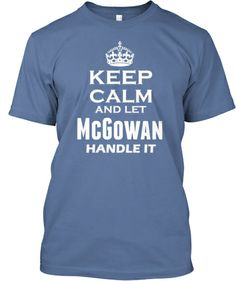 For those who are McGowan only