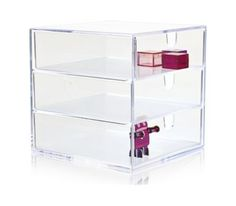 Buy Nomess Copenhagen - Clear 3 Drawer Box (11007) - Office - Coolshop.com