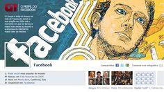 O Perfil do Facebook - Infographic - Globo.com