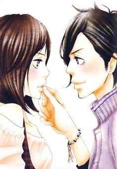 "Suki-tte Ii na yo. (Say ""i Love You"". Best Anime Couples, Anime Love Couple, Anime Love Story, Manga Love, Anime Love Games, Yamato And Mei, Dbz, Yamato Kurosawa, Japanese Pics"