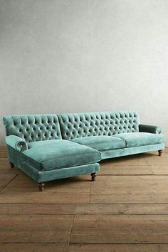 Mod Century Mod Sofa with Chaise