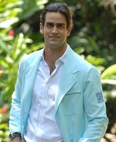Guilherme Furtado, o médico bonitão do programa de Ana Maria Braga, vai à Nasa (Foto: TV Globo)