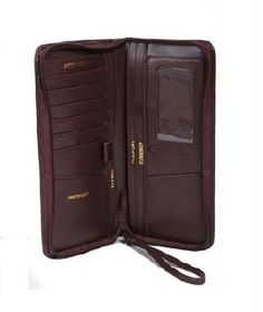 Brown Colored Leather Passport Cum Credit Card Holder @ Rs.349