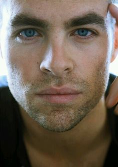 Chris Pine-i could tolerate him as Christian Grey....yep