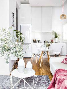 Un piso moderno de tan solo 45 m2
