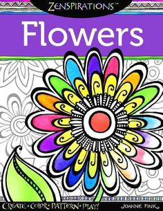 Discover a bountiful garden of 28 whimsical flower designs in this extraordinary coloring activity book. Zenspirations artist Joanne Fink reveals her easy-learn techniques for combining simple strokes