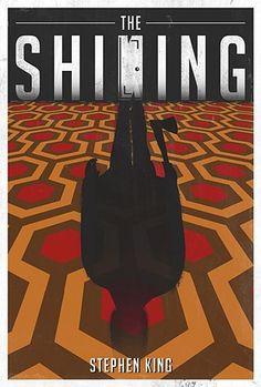 The Shining horror poster
