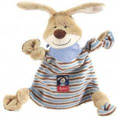 Doudou plat lapin Semmel Bunny - Sigikid