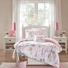 Shop for Mi Zone Kids Penelope the Poodle Pink Printed Bed in a Bag with Sheet Set. Get free delivery at Overstock.com - Your Online Kids' & Teen Bedding Store! Get 5% in rewards with Club O! - 20730036