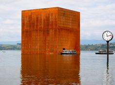 NOUVEL, Jean - Monolithe (Arteplage de Morat), Expo02, 2002.