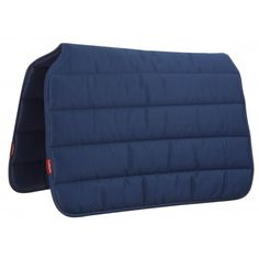 PROSPORT GRAFTER PAD NAVY Grafter Pads Extra hard wearing pads made from strong quality poly-cotton. Fully reversible, easy to clean and ideal for regular daily use. Featuring a swept cut-back wither to release pressure and designed to suit most saddle types.  Perfect for show, competition & race horses at home as well as general purpose activities.