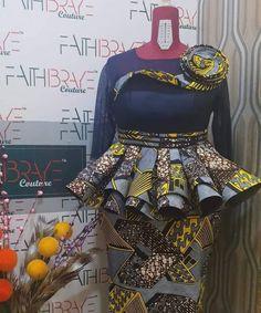 Amazing ankara designs for ladies - DarlingNaija Ankara Designs, African Print Dress Designs, African Print Skirt, African Print Dresses, African Print Fashion, African Design, Ankara Styles, Latest African Fashion Dresses, African Dresses For Women