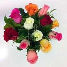 Bouquet de rosas multicolor, producto de la semana #oferta #regalaflores