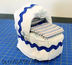 Cute Diaper Bassinet Tutorial
