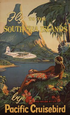 South Sea Islands - Pacific Cruisebird