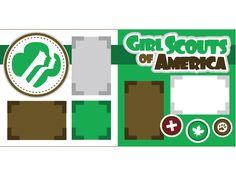Activities for Daisy Girl Scout, Brownies, Juniors and School Scrapbook, Scrapbook Titles, 12x12 Scrapbook, Scrapbook Page Layouts, Digital Scrapbooking, Scrapbooking Ideas, All You Need Is, Girl Scouts Of America, Girl Scout Juniors