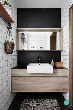 Modern home design Basement Remodeling, Bathroom Renovations, Home Renovation, Kitchen Remodeling, Interior Design Tips, Bathroom Interior Design, Interior Decorating, Interior Doors, Kitchen Interior