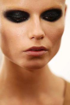 Natasha Poly. Dark, dramatic eye