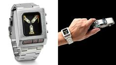 Flux Capacitor Wristwatch