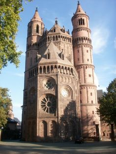 Worms Cathedral: is a 12th century church and burial site of the Salian Dynasty. It boasts a rich and diverse history stretching back through the centuries