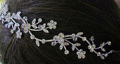 Wedding Headband wedding Hair Accessory Bridal by MissJoansBridal