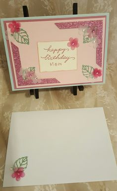 Birthday Card using Stampin Up! Products  Craftsbymeli@gmail.com