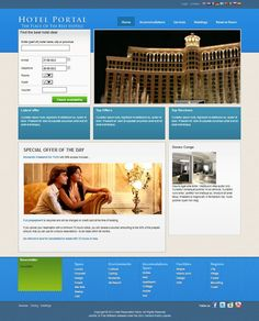 Joomla business directory template j businessdirectorytemplate j hotelportal template wajeb Choice Image