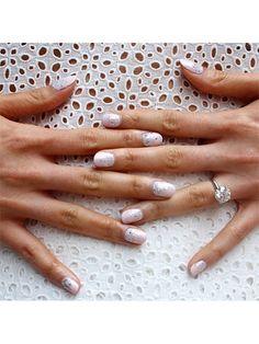 23 So-Pretty Bridal Manicure Ideas