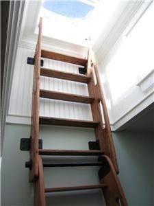 Folding Ship S Ladder Loft Ladders Lofts And Tiny Houses