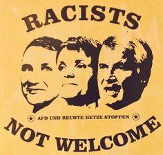 Schön, dass diese drei Menschen so entschlossen gegen Rassismus und linken Gedankenkrebs ankämpfen.