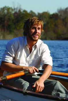 Ryan Gosling...the notebook what a great live story. The way he never gives up we need to learn that again