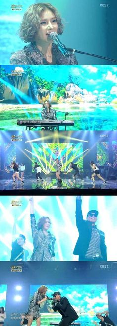 Gummy does an upbeat cover of Clon on 'Immortal Song 2' | http://www.allkpop.com/article/2014/09/gummy-does-an-upbeat-cover-of-clon-on-immortal-song-2