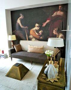 Luxuriate in the Living Room. Interior Designer: Raji Radhakrishnan for Kips Bay 2012.