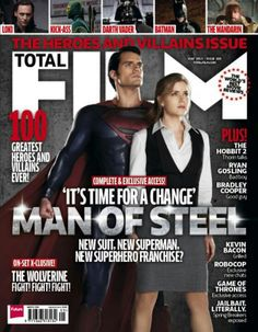 New Man of Steel cover.