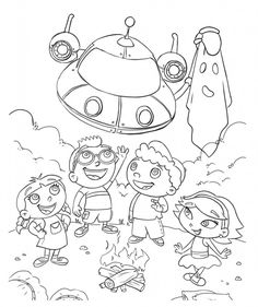 Top 10 Free Printable Little Einsteins Coloring Pages Online ...