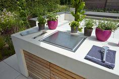 Outdoor Küche Cube : Cubic outdoor kitchen herrenhaus werkstätten für wohnkultur