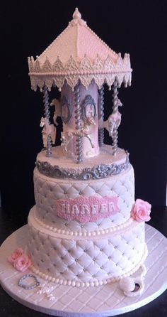 Carousel cake request for my niece