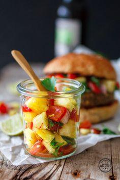 Fruchtig-scharfe Ananas-Salsa #edekafoodlabs