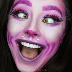 Cheshire Cat #Halloween Makeup by BellevueSq. Find out how to get this look on #Sephora's Beauty Board>