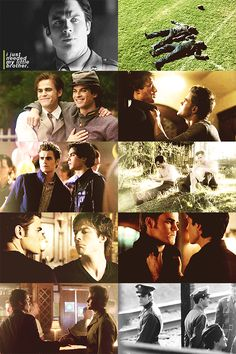 """""""I just needed my little brother."""" Damon and Stefan Salvatore."""