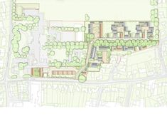 Pollard Thomas Edwards Architects · The Avenue Architecture Plan, Contemporary Architecture, Affordable Housing, Master Plan, Urban Design, Layout, How To Plan, City, Image