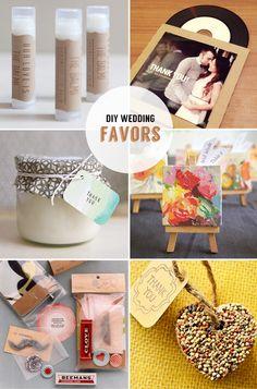 24 DIY wedding favors   Best Day Ever